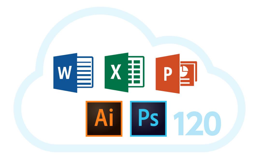 120種類のファイル拡張子に対応したプレビュー機能