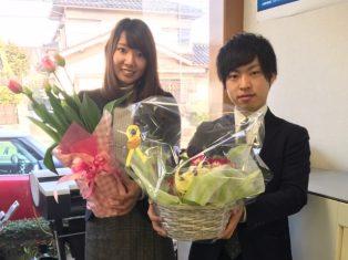 2月20日は山崎、21日は市沢さんの誕生日です!