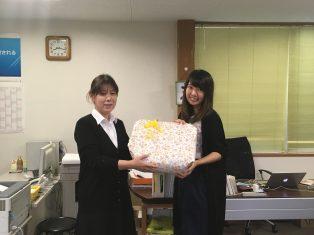 9月7日は河越さんの誕生日でした!!
