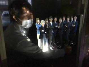 未来、昭和、キヤンプ場、オフィスが一つの会場に!!