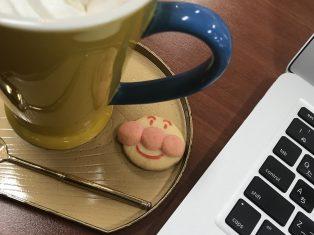アンパンマンクッキーいただきました!
