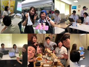 富山商業高校の学生さんが、インターンシップに来てくれました!