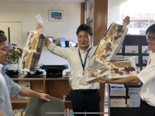 お口の恋人ロッテのチョコパイ 山本さん28歳の誕生日でした!