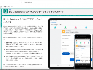 スマホを便利に活用!Salesforceのモバイルアプリ、アップデートしました。