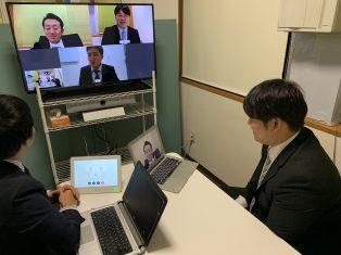web会議システムとテレビ、導入しました!!