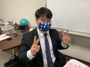 手作りマスクいただきました!