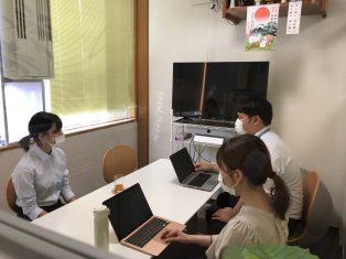 富山県立大学の学生さんが、インターンシップに来てくださいました!