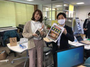 市沢さん、山崎さんのお誕生日でした!